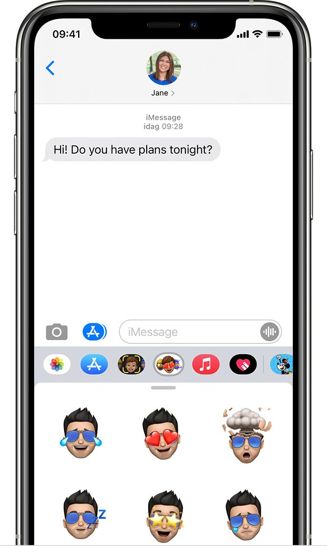 Anvanda Imessage Appar Pa Din Iphone Ipad Och Ipod Touch Apple Support