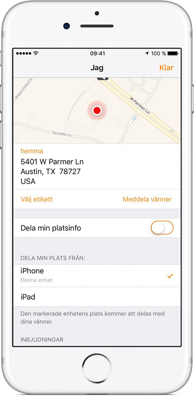 Hitta Mina Vänner På Android