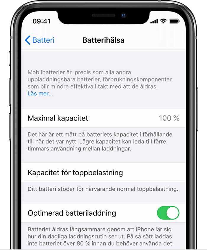 Om batteri och prestanda i iPhone 11 och senare Apple support