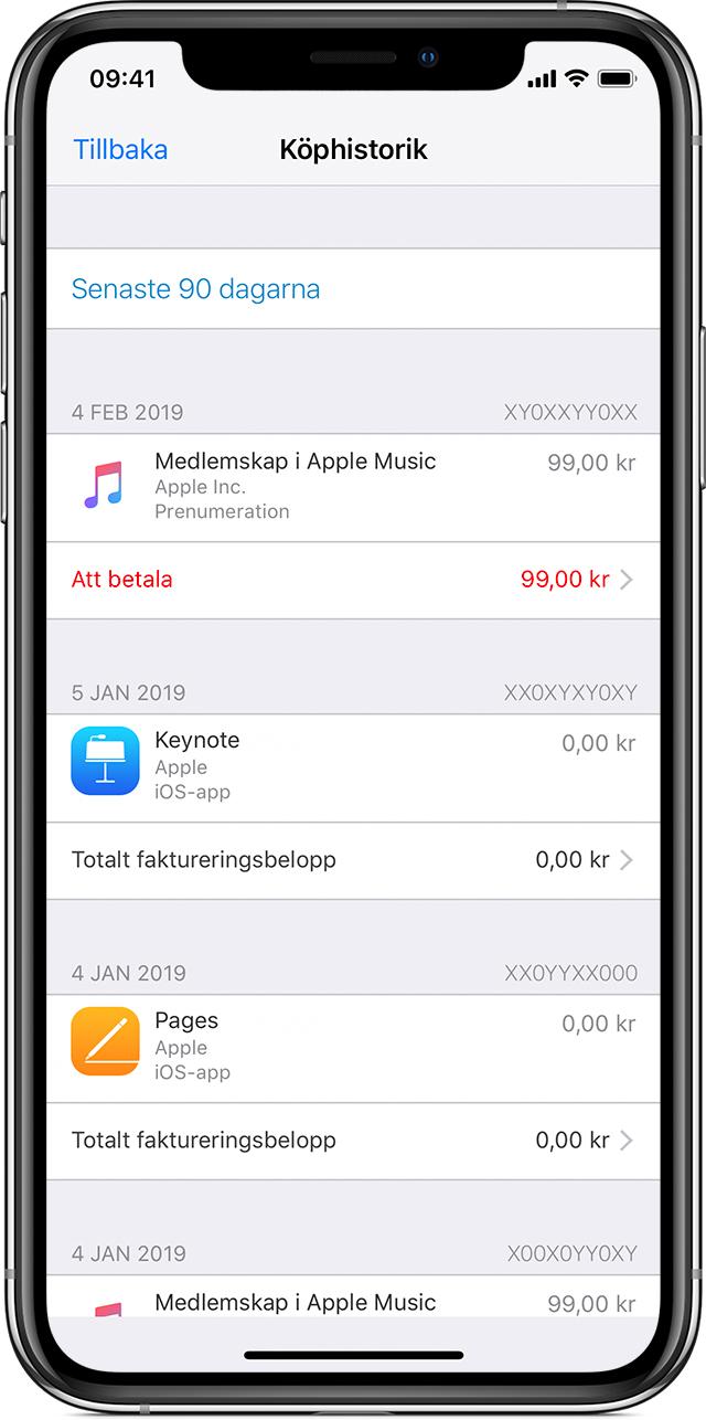 Köpa iphone 7 faktura