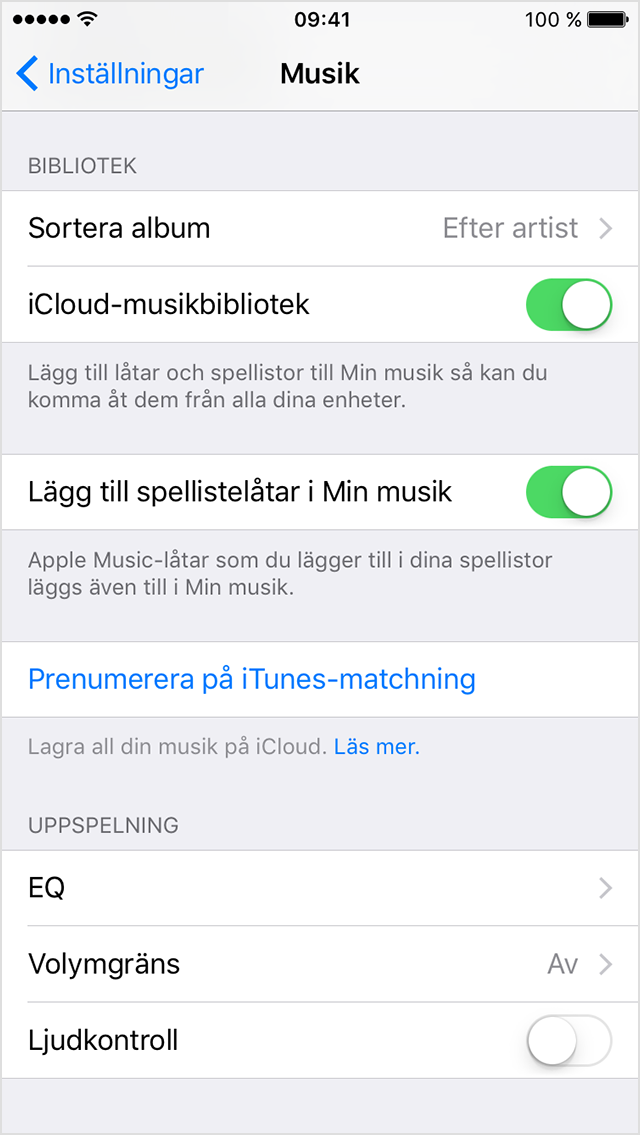 min ehnhet syns inte i itunes