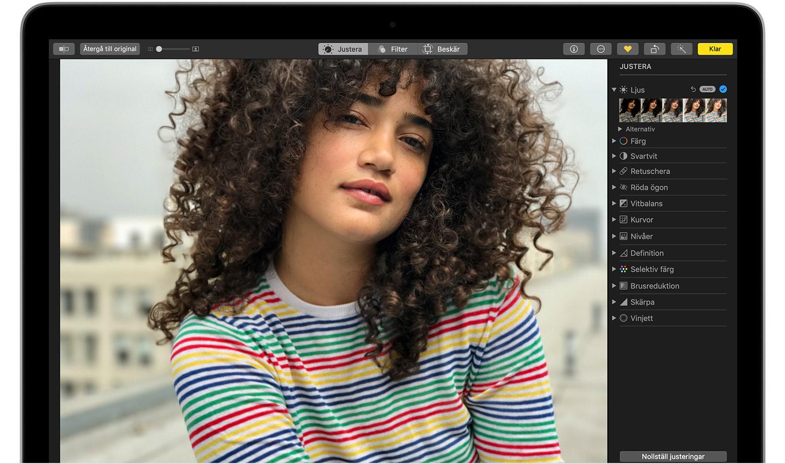 bästa fotoredigeringsprogram mac