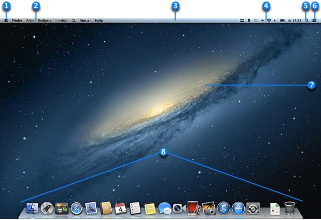Grundl 228 Ggande Om Mac Skrivbordet Apple Support