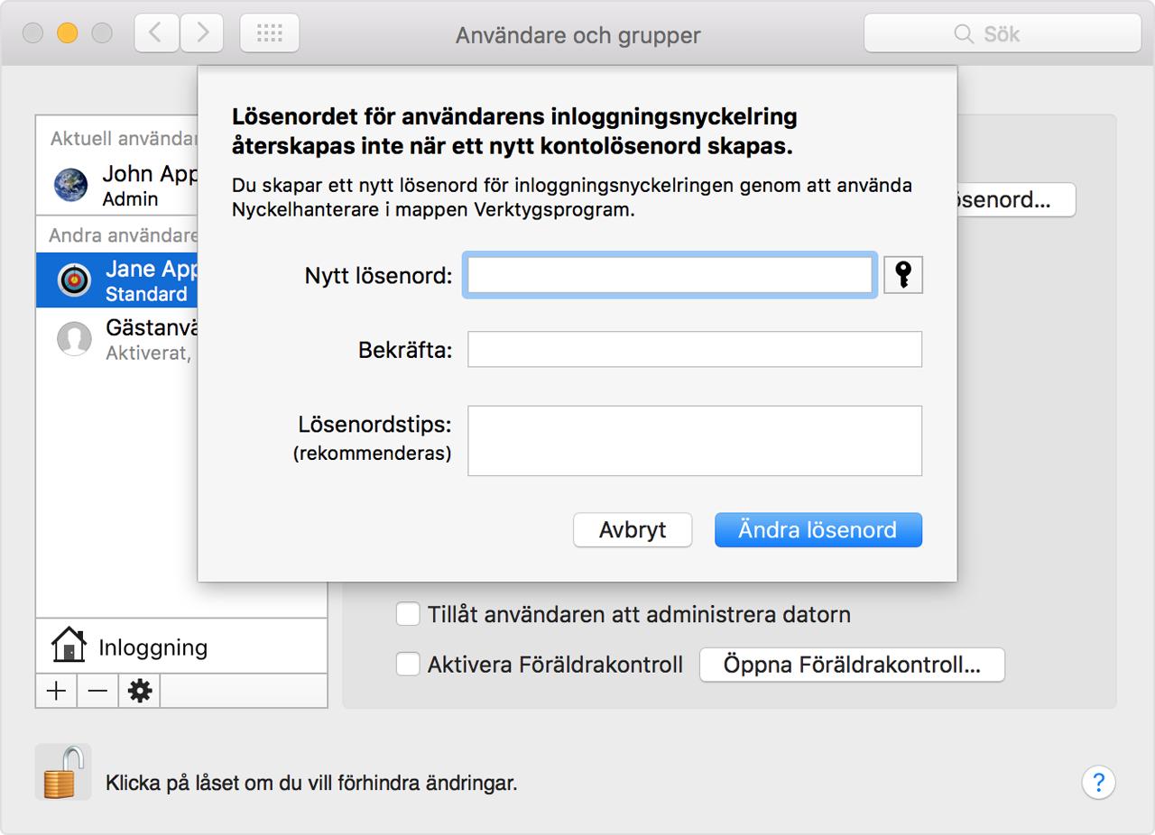 hur kan man byta lösenord på wifi