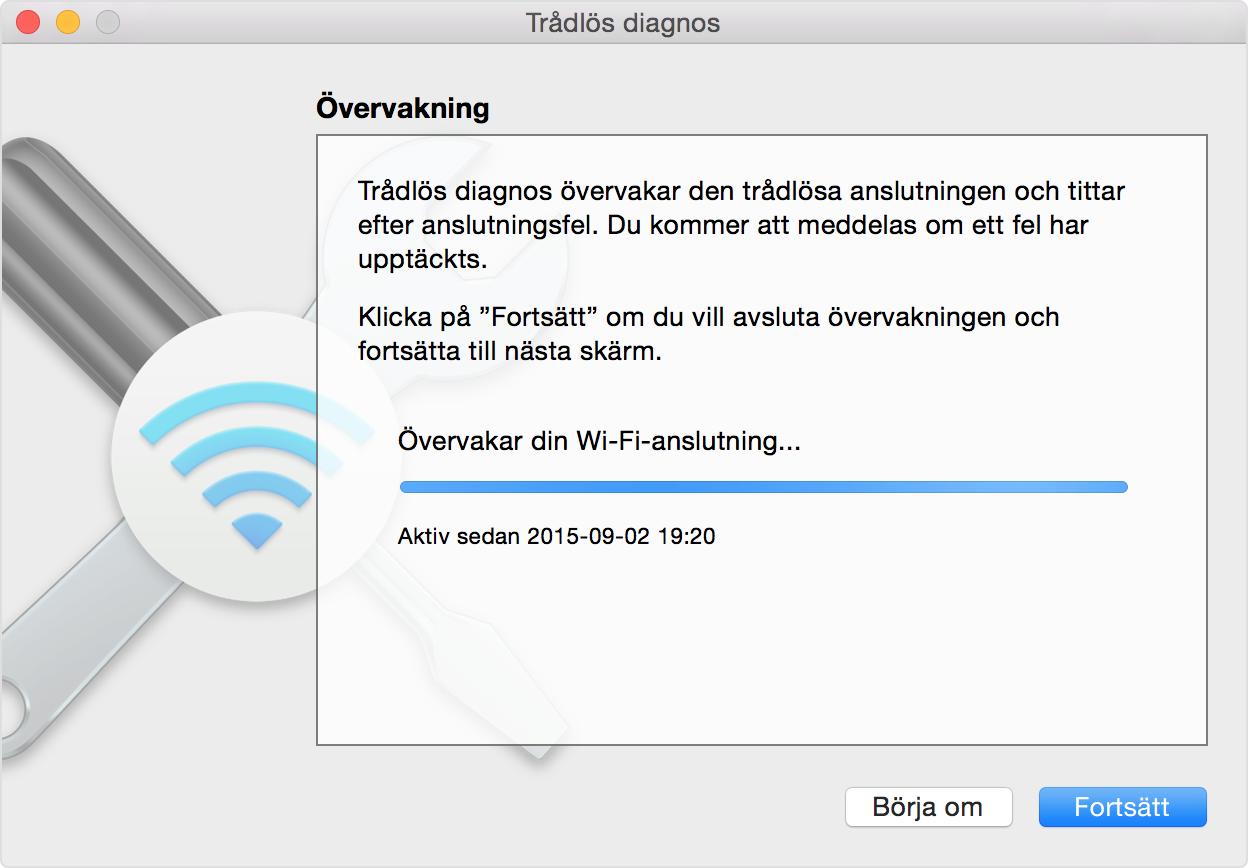 wifi funkar inte på datorn