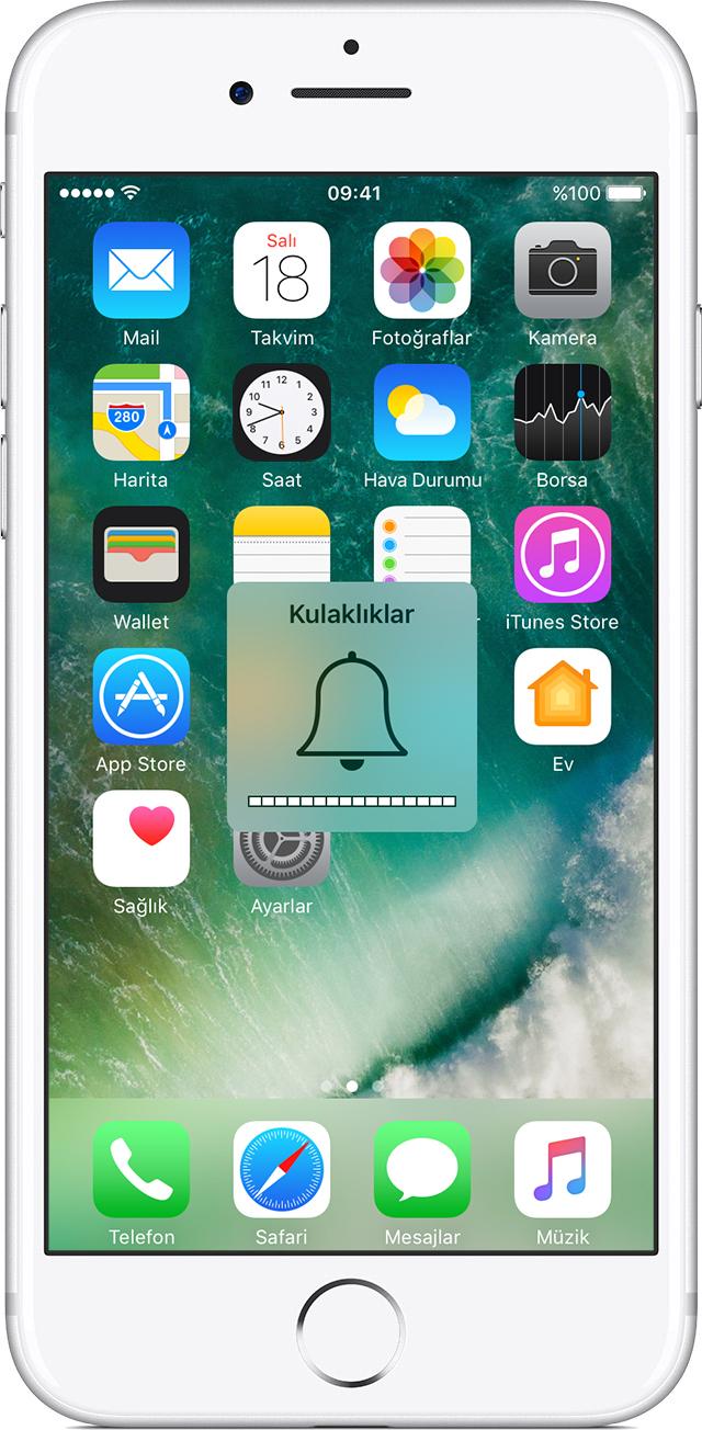 iPhone kulaklık modunda takılı kalmış