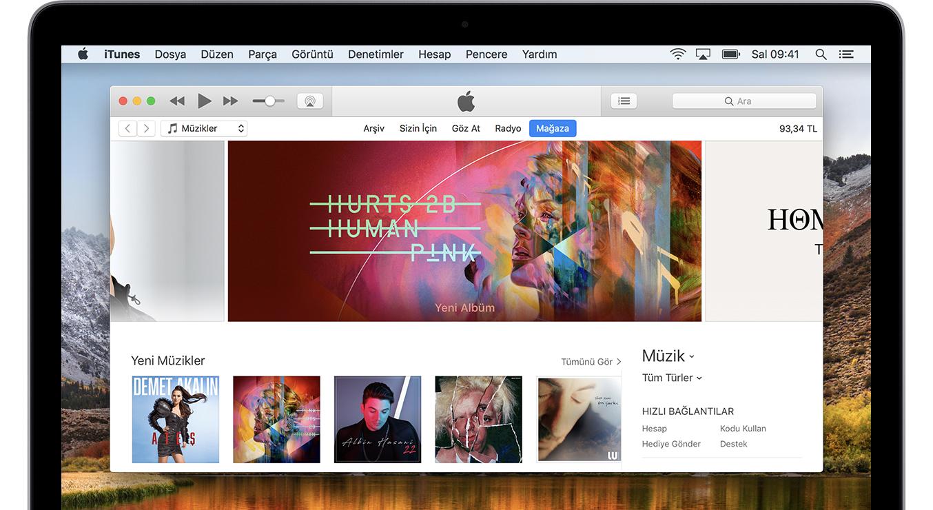 iTunes'u güncelleyin