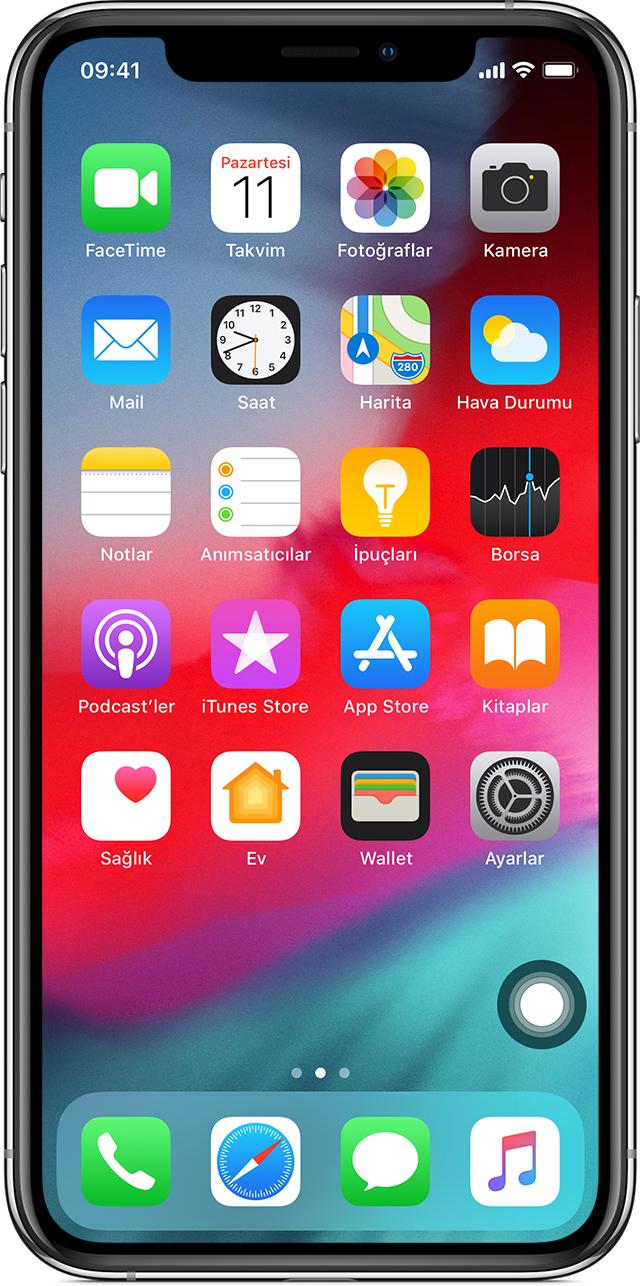 iPhone, iPad veya iPod touch'ınızda AssistiveTouch'ı