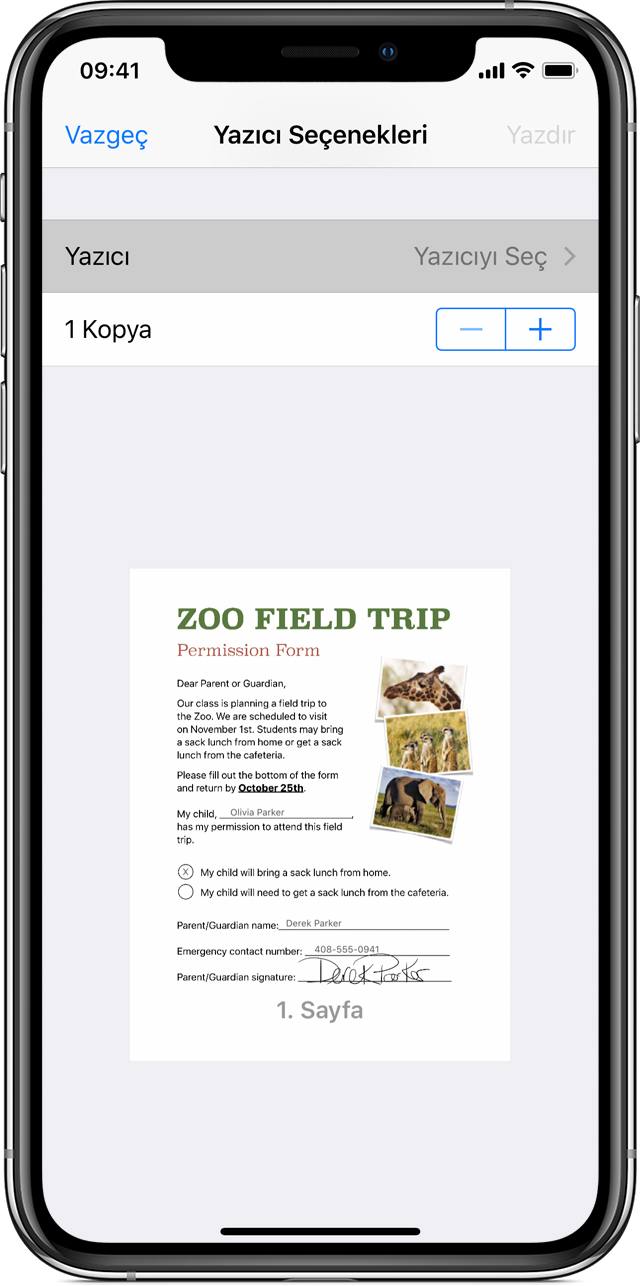 Iphone Ipad Veya Ipod Touchınızdan Yazdırmak Için Airprinti