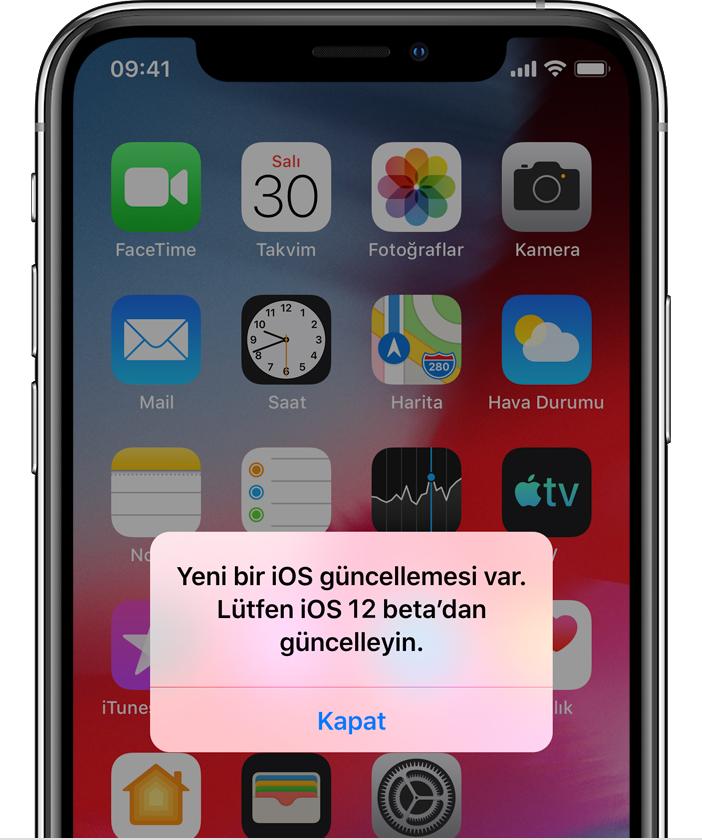 iphone 7 Plus yazılım geri yükleme