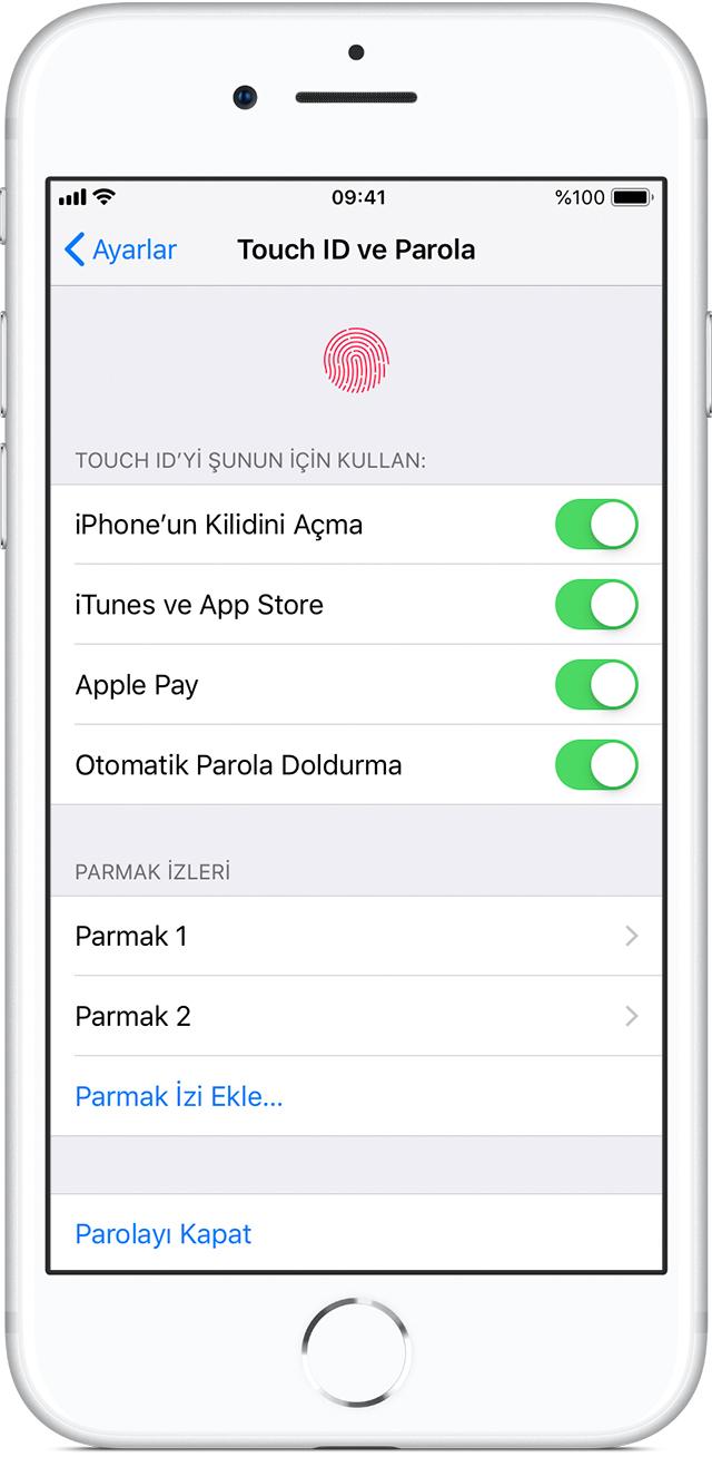 iphone yazılım güncelleme parolası nedir