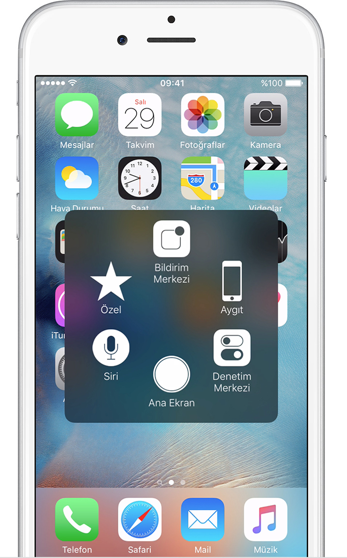 Bulle Bouton Home Iphone