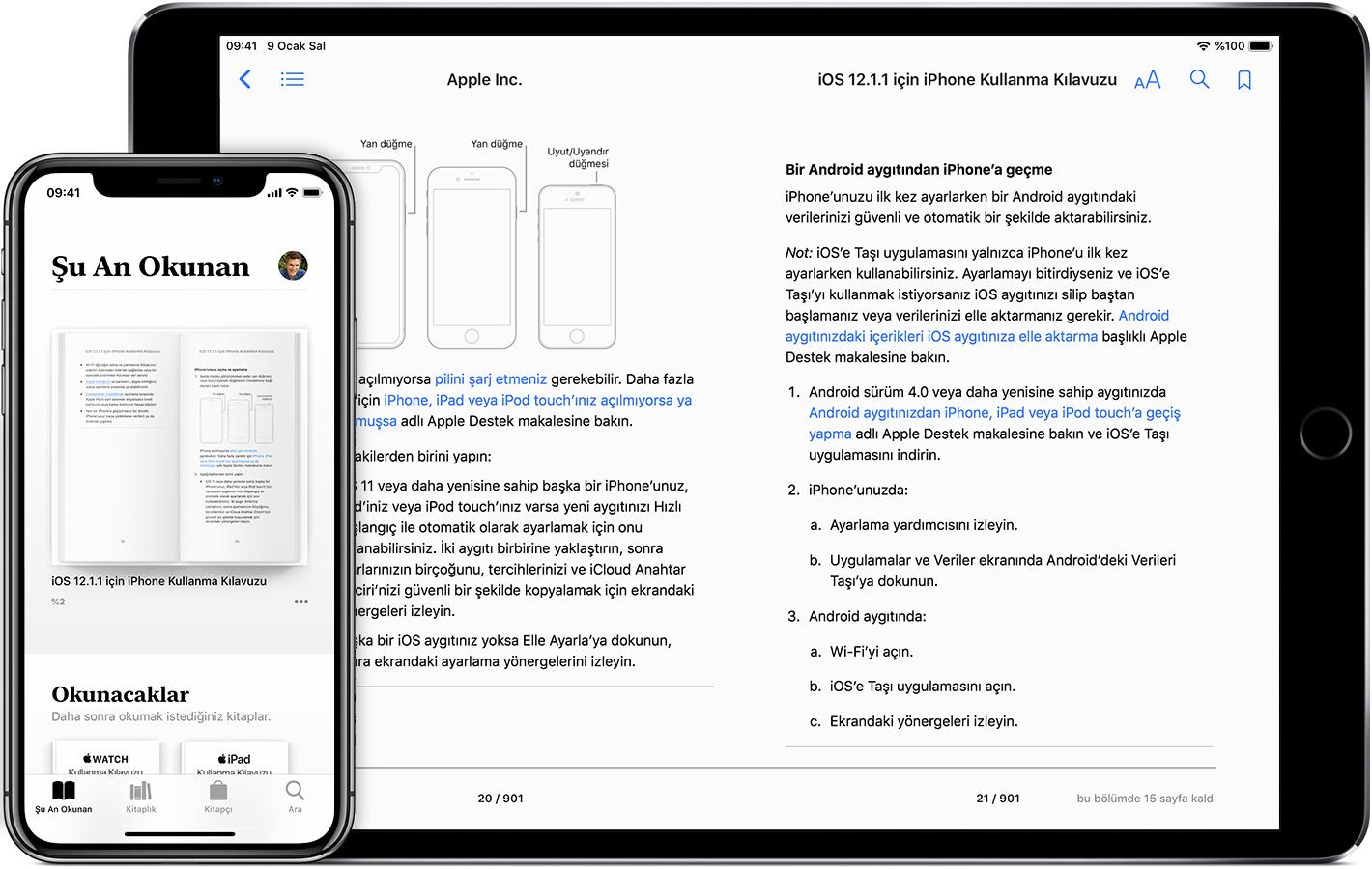 Apple Books Ile Iphone Ipad Veya Ipod Touchınızda Kitap Okuma Ve