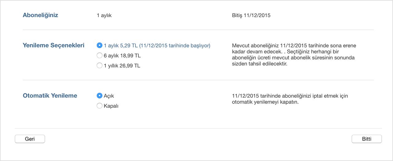 Murat Yazıcı Apple Music Abonelik İptali