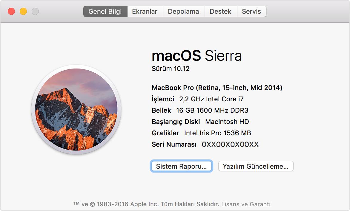 Mac sisteminde gizli klasörleri görüntüleme hakkında