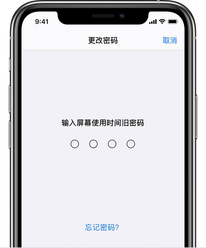 iPhone 屏幕使用時間密碼無法用 Apple ID 更改和重置怎么辦?